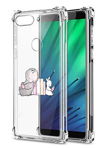 Oihxse Crystal beschermhoes voor Huawei Mate 30 Lite/NOVA5I Pro transparant silicone TPU beschermhoes Air Cushion hoeken…
