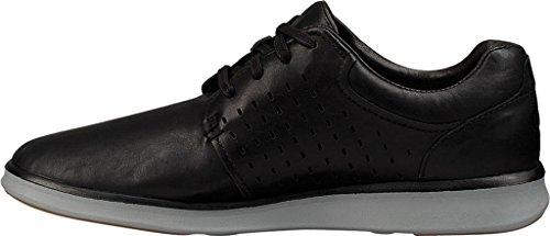 UGG - Zapatos de cordones de Piel para hombre negro Schwarz (Black) Schwarz (Black)