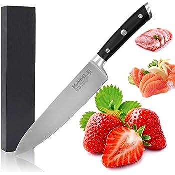 Amazon.com: tabnovo, cuchillo de chef 8 inches – Cuchillo de ...