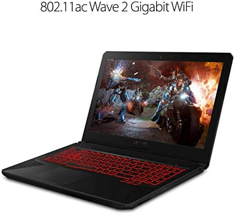 2019 ASUS TUF 15.6″ FHD 120Hz 3ms Premium Gaming Laptop | Intel 6-Core i7-8750H up to 3.9GHz | 16GB RAM | 128GB SSD Boot + 2TB HDD | NVIDIA GeForce GTX 1060 6GB | Backlit Keyboard | Windows 10 41CMMeEs15L