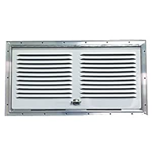 Norcold 617484PW Polar White Lower Side Vent