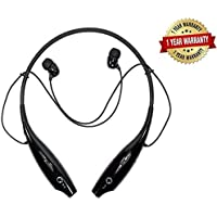 eTRIBO HBS-730 Bluetooth Stereo Sports Headset Compatible with Xiaomi, Lenovo, Apple, Samsung, Sony, Oppo, Gionee, Vivo Smartphones(Multicolour)