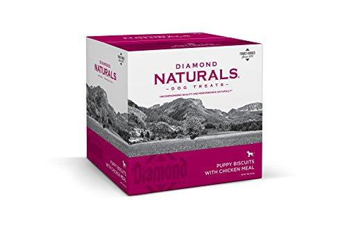 (Diamond Naturals Puppy Diamond Biscuit Dog Treat with Chicken Protein, 19lb)