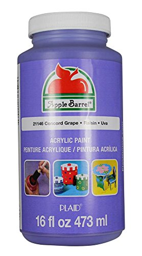 (Apple Barrel Acrylic Paint in Assorted Colors (16 Ounce), 21146 Concord Grape)