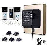 Power Adapter for RING Doorbell, UL Certificated Power Supply for RING Video Doorbell, RING Video Doorbell 2 & RING Video Doorbell Pro Battery Charger
