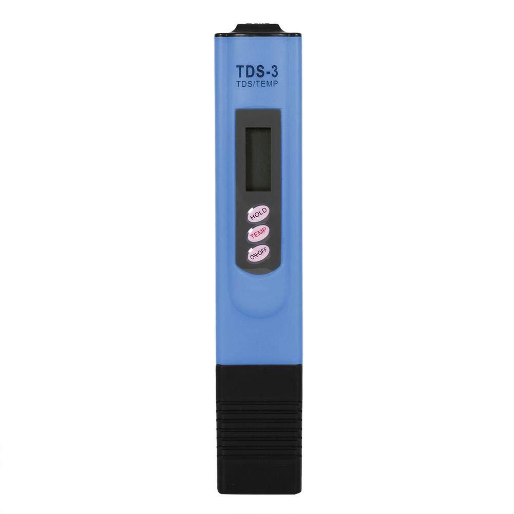 TDS Meter Water Quality Temperature Tester Pen,Ideal Water Test Meter for Drinking Water Water Quality Tester,Digital LCD PH Meter Aquariums 黄色