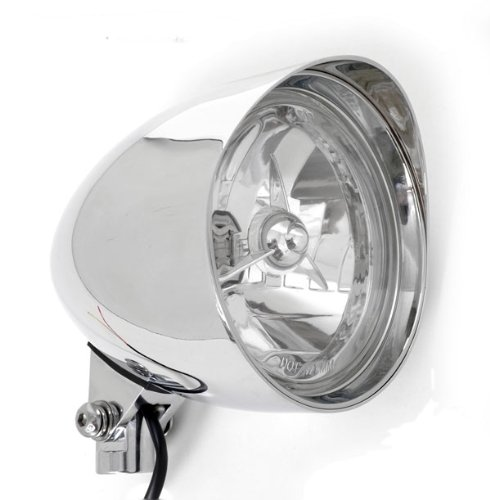 Chrome Billet Custom Headlight 5-3/4