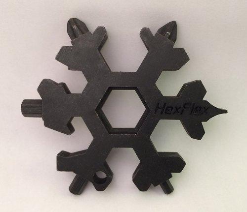 HexFlex Snowflake Multi-Tool Standard/Metric (Oxidized Black)
