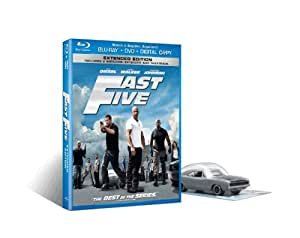 Fast Five BD Combo with Die-Cast Toy Dodge Charger [Blu-ray]