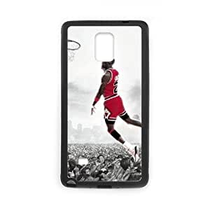 Unique DIY Design Cover Case with Hard Shell Protection for Samsung Galaxy Note 4 case with Michael Jordan lxa#339135 by icecream design