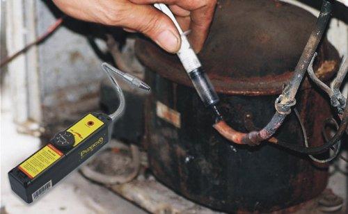 Yosoo alogene Gas Freon CFC HFC refrigerante Rilevatore di perdite di HVAC R134/a R410/a R22/a
