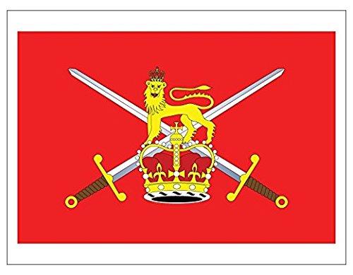 BRITISH ARMY Flag Sticker (uk britain england military)- Sticker Graphic Decal