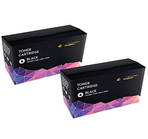 2-PACK Cartridges Kingdom Compatible Toner Cartridges Replacement for CF280X 80X - Black