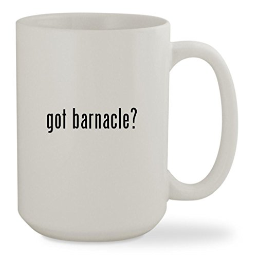 got barnacle? - 15oz White Sturdy Ceramic Coffee Cup (Tunip Octonauts Costume)