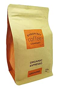 Byron Bay Coffee Company Certified Organic Espresso Ground, 250g