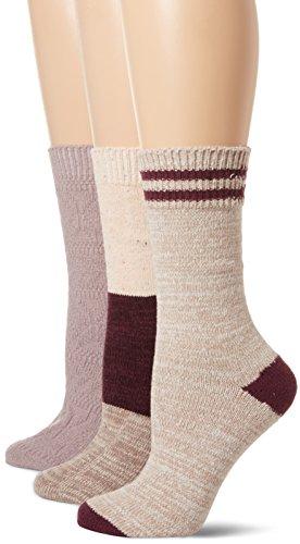 1cb0a3a1a6c Muk Luks Women s Microfiber Boot Socks 3 Pack ...