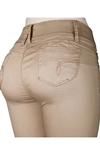 women color skinny jeans - 4