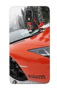 Premium Protection Lamborghini Gallardo Case Cover With Design For Galaxy Note 3- Retail Packaging