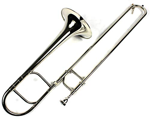 Brand New Eb Alto Trombone w/ Case and Mouthpiece- Nickel Plated Finish