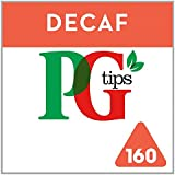 PG Tips Decaf 160s Pyramid Teabags160 per pack