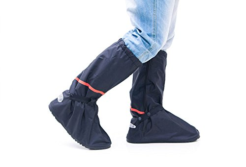 Wingstore Motorcycling Foldable Flat Waterproof Recycled PVC Rain Shoes Covers