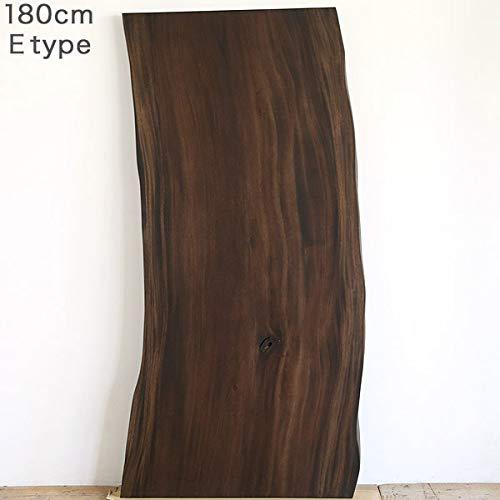 SENSO d VITA(センソ) 一枚板 ダイニングテーブル 無垢 幅180 モンキーポッド 1枚板 Eタイプ B07T5326CN
