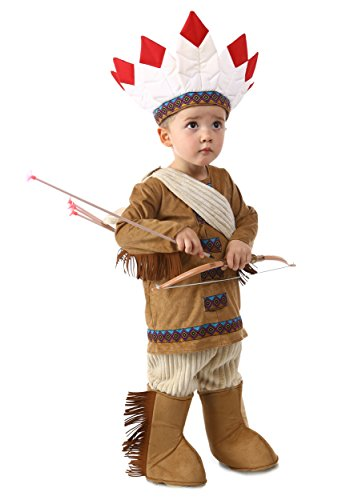 [Princess Paradise Baby's Native American Deluxe Costume, As Shown, 12 to 18 months] (Toddler Indian Costumes)