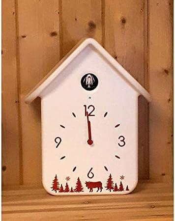 Guzzini 16869011 Horloge A Coucou 30cm Blanc Amazon Fr Cuisine Maison