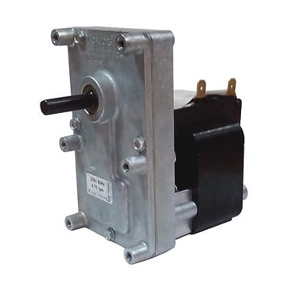 Motorreductor para estufa de pellets T3 5,3 RPM Pacco 50 mm Árbol 8,