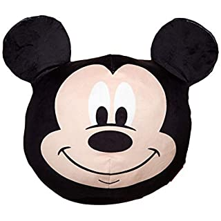"""The Northwest Company Mickey Mouse Cloud Pillow, 11"""" Round"""