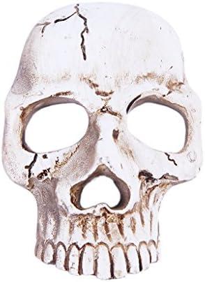 樹脂 DIY 創造的 頭蓋骨 ステッカー 装飾 携帯電話 アンティークホワイト