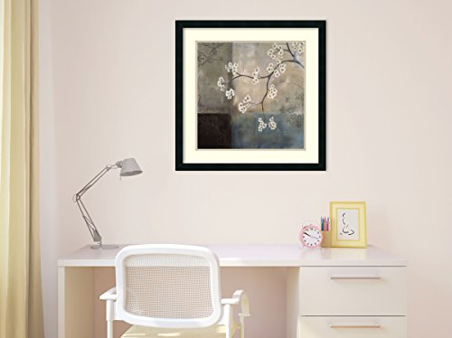 Framed Art Print, 'Spa Blossom I' by Laurie Maitland: Outer Size 25 x 25'' by Amanti Art (Image #5)