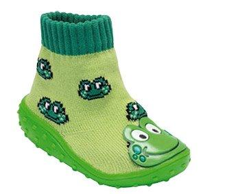 Baby Shoe Sock - Green Frog, UK 4 Child (997067/5.5): Amazon.co.uk ...