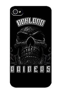 Inthebeauty 2161799898 Case Cover Iphone 4/4s Protective Case Oakland Raiders ( Best Gift For Friends)