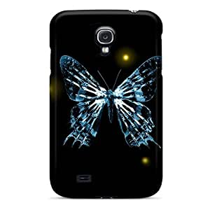 Galaxy Cover Case - Fringe Butterfly Protective Case Compatibel With Galaxy S4