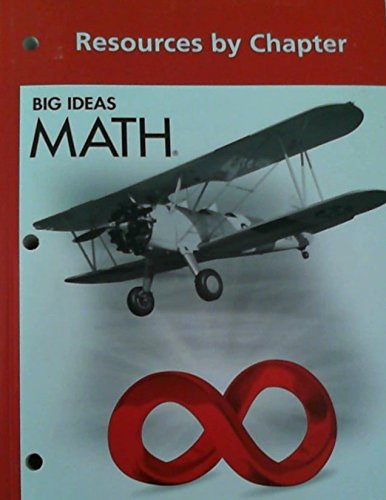 Big Ideas Math  Common Core Resources By Chapter Red
