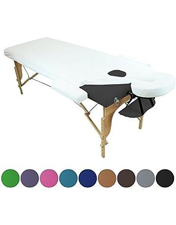 Linxor ® Sábana de protección 4 partes en esponja para mesa de masaje - 9 colores