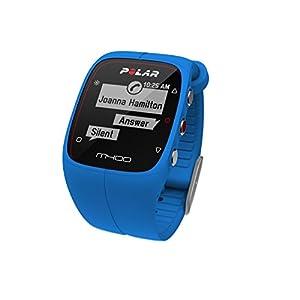 Polar Men's M400 90057184 Blue Silicone Quartz Watch