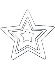 Yziss Craft Metal Star Metal Dream Catcher Dreamcatcher Ring Macrame Craft Hoop DIY Accessories