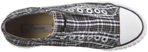 Venice Melmac 500223 Damen Sneaker Schwarz/TX 42 checker black-white