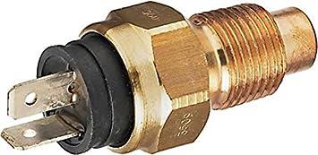 mit Anschlussteilen K/ühlmitteltemperatur HELLA 6PT 013 113-031 Sensor Anschlussanzahl 2
