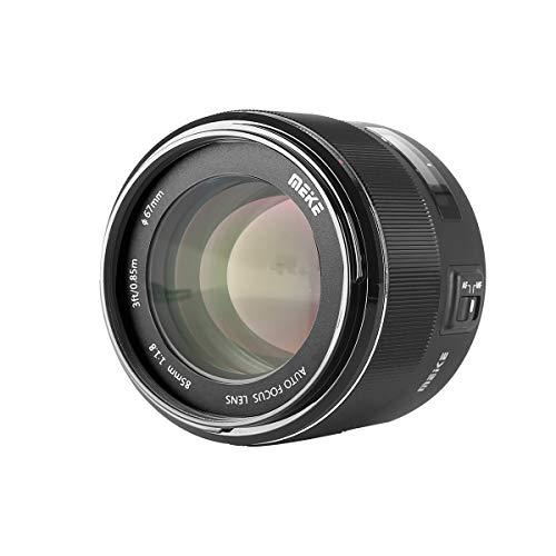 Meike 85mm F/1.8 Full Frame Auto Focus Prime Lens for Canon EOS EF Mount Digital SLR ()