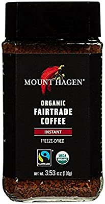 Mount Hagen Organic Freeze Dried Instant Coffee, 3.53 oz by Mount Hagen