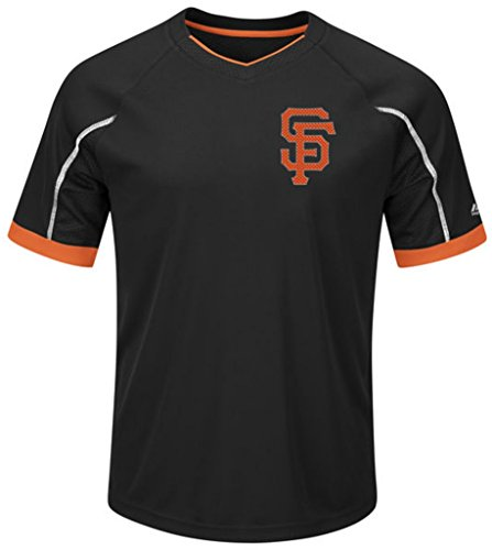 San Francisco Giants Majestic Mens Cool Base Emergence Shirt Big & Tall Sizes ()