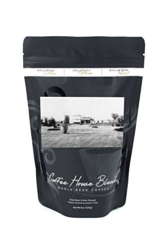 Carroll, Iowa - View of C and NW Park (8oz Whole Bean Small Batch Artisan Coffee - Bold & Strong Medium Dark Roast w/ Artwork) (Nw Artisan)