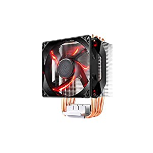 Cooler Master Hyper H410R (RR-H410-20PK-R1) 120mm RED LED Air CPU Cooler Intel/AMD Support