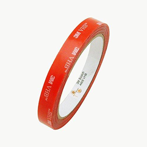 3M 4905/CLR055 Scotch 4905 VHB Tape: 1/2