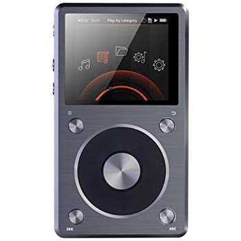 FiiO X5 (2nd Generation) High Resolution Music Player (Titanium) 2015 NEWEST MODEL
