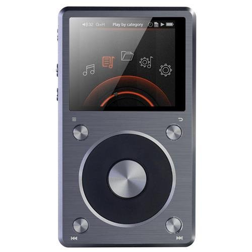 FiiO X5 (2nd Generation) High Resolution Music Player (Titanium) 2015 NEWEST MODEL