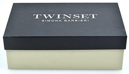 Appartamenti Sandalo Pelliccia Twin Eco set Nero Codice 38 Donna Ca7tg5 TqwEpwxBn